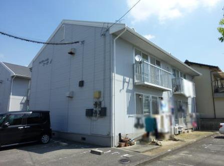 物件番号: 1118809537 ライブリーハイム ミーサ A棟 松山市余戸東1丁目 3DK アパート 外観写真