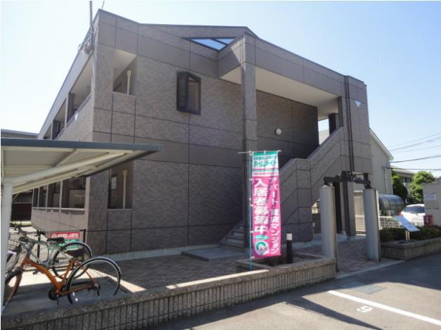 物件番号: 1118809717 スカイハイツ弁天山 松山市北吉田町 1LDK アパート 外観写真
