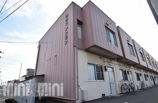 物件番号: 1118865542 関谷マンション 松山市南吉田町 2LDK アパート 外観写真
