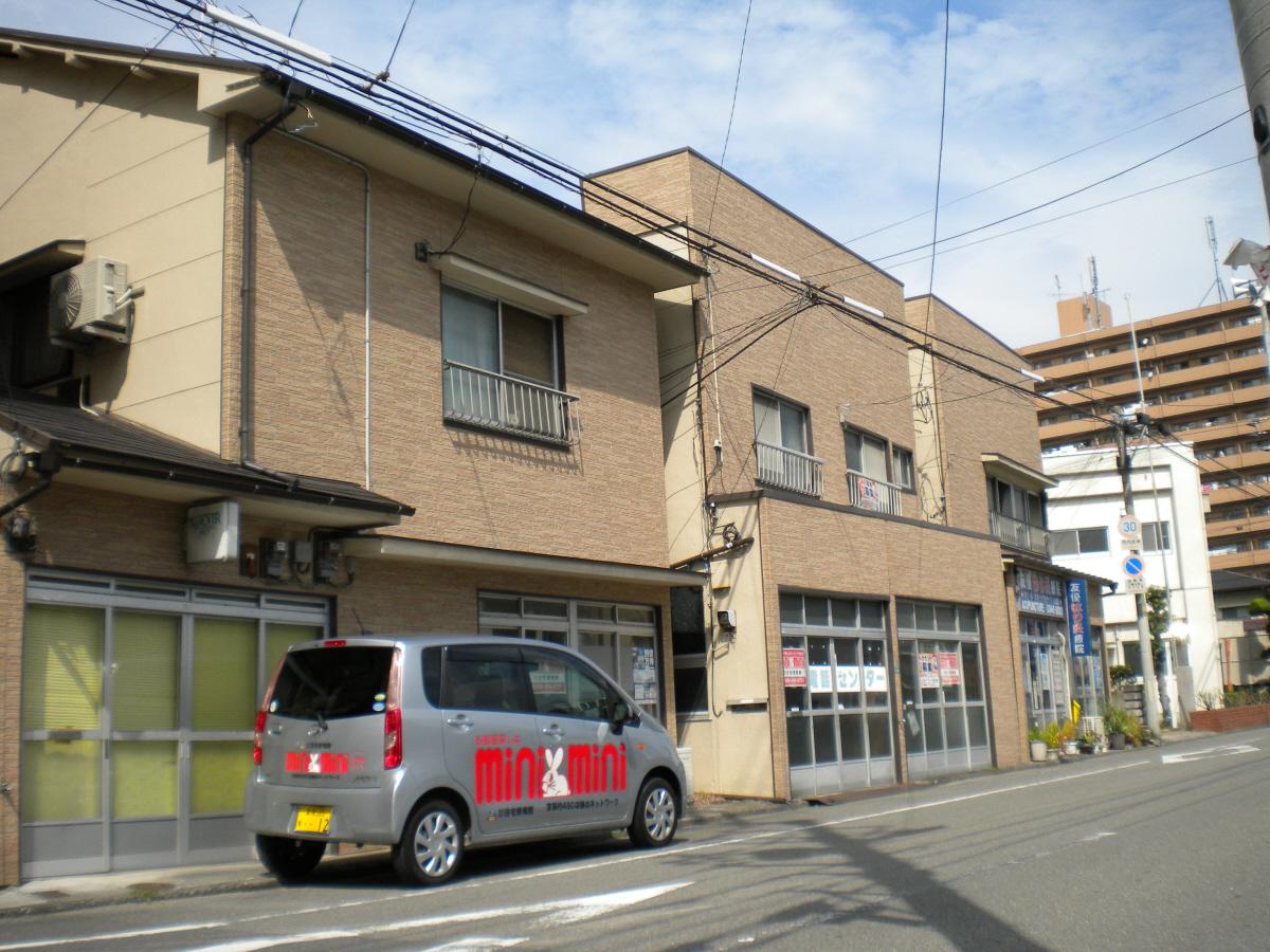 物件番号: 1118840755 熊野アパート 松山市竹原2丁目 1K アパート 外観写真