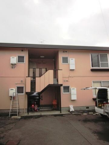 物件番号: 1118814568 ルネシュ西長戸C棟 松山市西長戸町 3DK アパート 外観写真