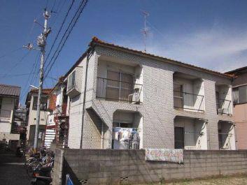 物件番号: 1118814765 コーポ中川Ⅱ 松山市山越1丁目 1K コーポ 外観写真